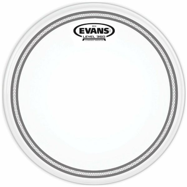 Evans Edge Control 14-inch Tom Drum Head - B14EC2S